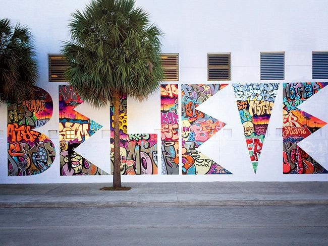 The Amazing Street Art That's Helping One Miami School Intended For Miami Wall Art (Image 10 of 20)