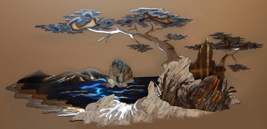 20 Mountain Scene Metal Wall Art Wall Art Ideas