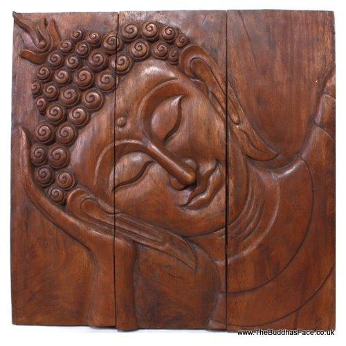 The Best Place For Wholesale And Retail Buddha Statues,sculptures Regarding Buddha Wood Wall Art (Image 10 of 20)