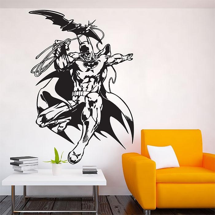 The Brave And The Bold Vinyl Wall Art Decal With Regard To Tattoo Wall Art (View 18 of 20)