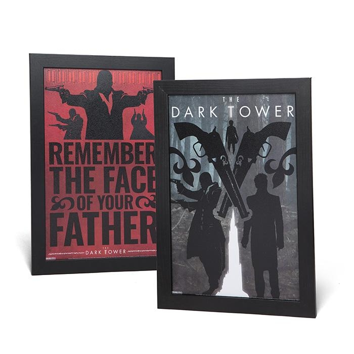 The Dark Tower Framed Wall Art – Exclusive | Thinkgeek Inside Exclusive Wall Art (Image 16 of 20)