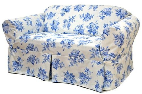 The Fast Way Transform Your Home With Furniture Slipcovers With Regard To Blue Slipcovers (View 10 of 20)