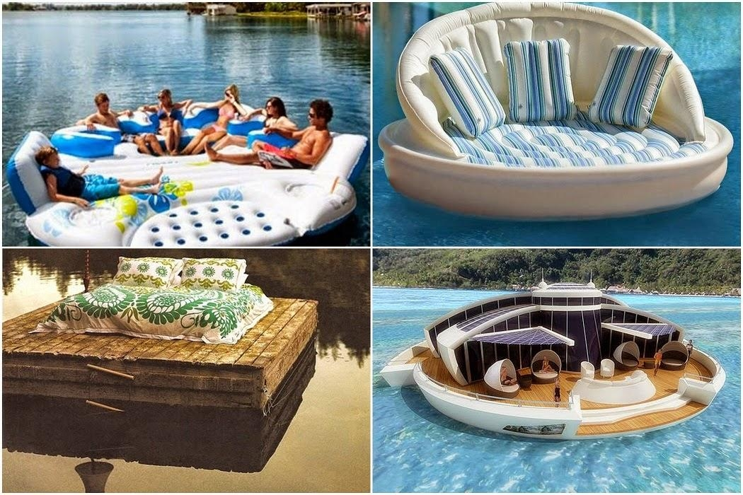 The Floating Sofa – Swimming Floating – Interior Design In Floating Sofas (View 3 of 20)