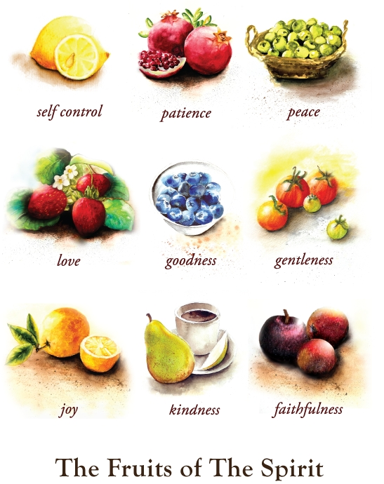 The Fruits Of The Spirit – Handmade Gifts, Jewelry And Artwork Throughout Fruit Of The Spirit Artwork (Image 19 of 20)