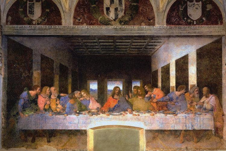 The Last Supper, 1495 1498 Canvas Art Printleonardo Da Vinci Pertaining To The Last Supper Wall Art (Image 16 of 20)