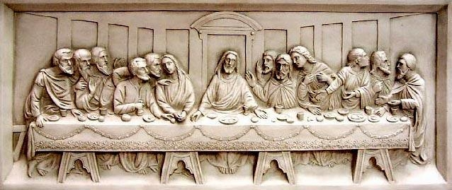 The Last Supper — A Wall Relief For The Last Supper Wall Art (Image 9 of 20)