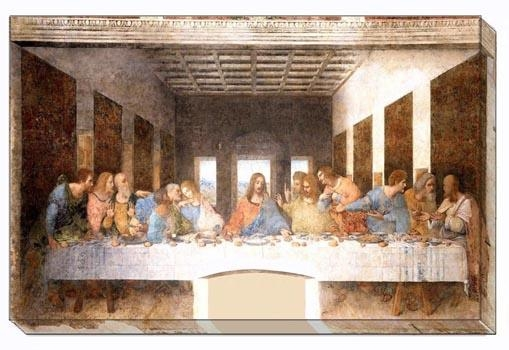 The Last Supper On Stretched Canvas Wall Art High Quality Canvas Regarding The Last Supper Wall Art (Image 11 of 20)