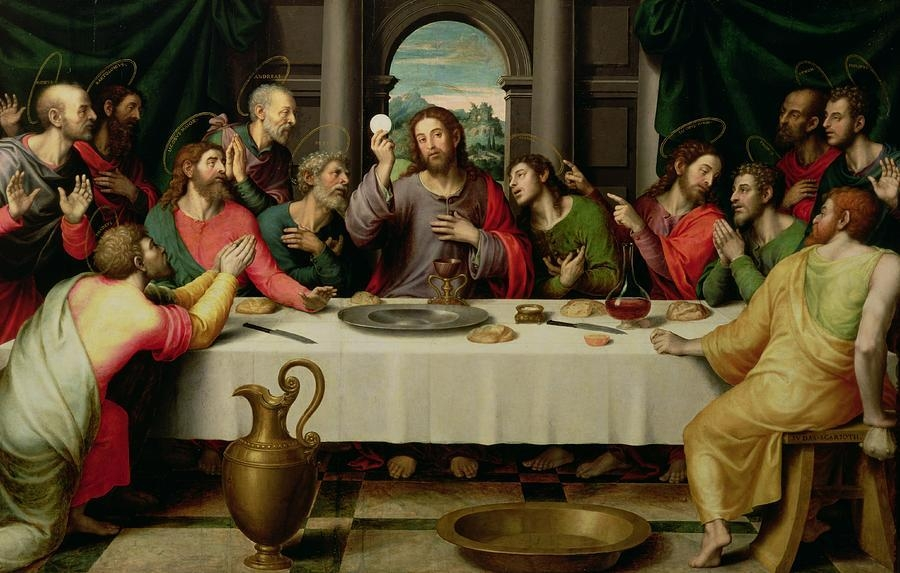 The Last Supper Paintingvicente Juan Macip Regarding Last Supper Wall Art (Image 14 of 20)