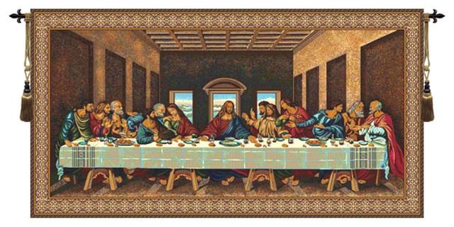 The Last Supper V – Tapestries  European Wall Art With Regard To Last Supper Wall Art (Image 15 of 20)