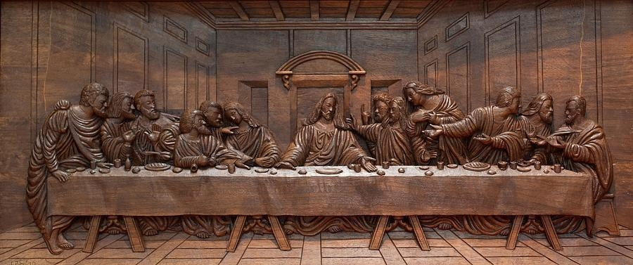 The Last Supper Wall Art Perfect Large Wall Art On Large Canvas Within The Last Supper Wall Art (Image 13 of 20)