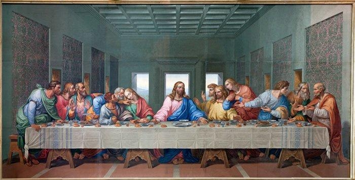 The Last Supper Wall Mural Jesus Christ Photo Wallpaper Religion With Regard To Last Supper Wall Art (Image 16 of 20)