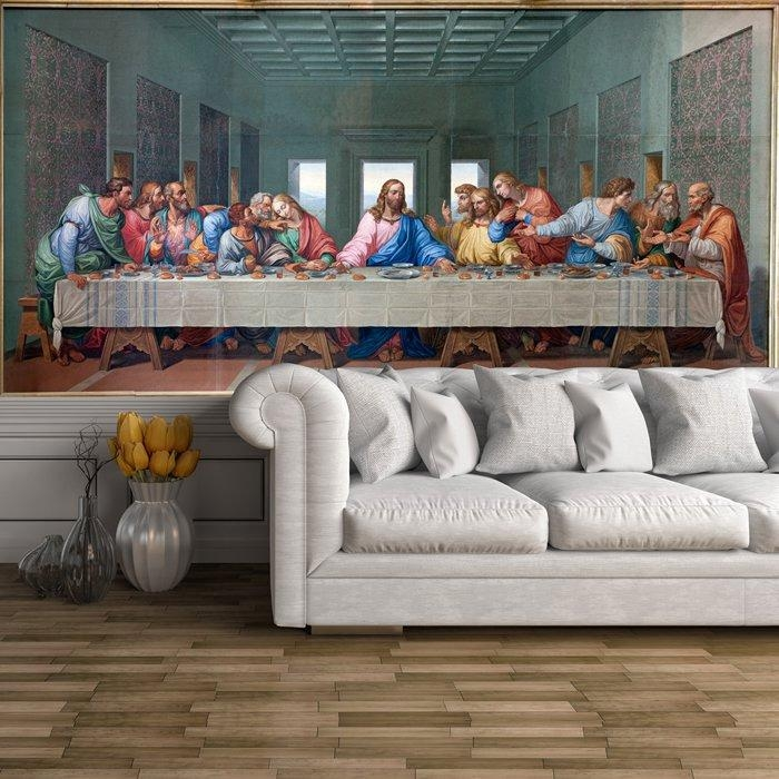 The Last Supper Wall Mural Jesus Christ Photo Wallpaper Religion With Regard To The Last Supper Wall Art (Image 14 of 20)