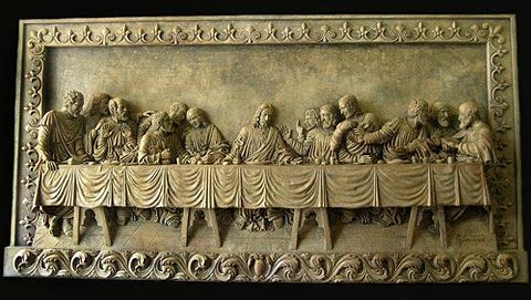 The Last Supper Wall Plaque Sculpturegoran Inside The Last Supper Wall Art (Image 15 of 20)