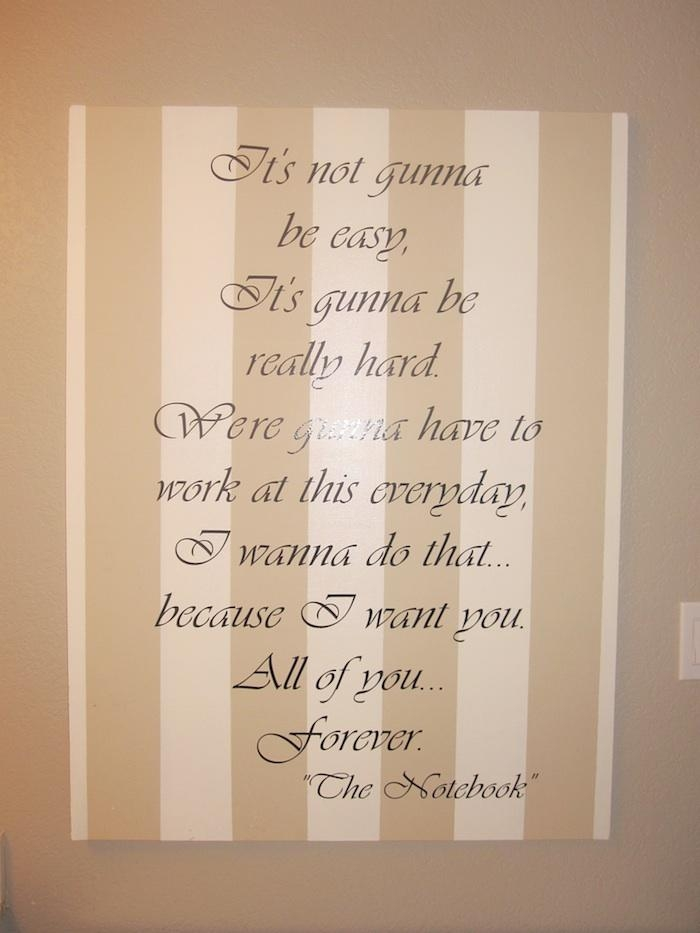 The Notebook Inspired Wall Art – Classy Clutter In Classy Wall Art (View 15 of 20)