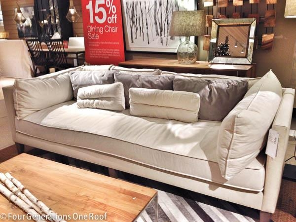 The Search For A Comfy Couch {Our Tufted Sofa} – Four Generations Regarding Big Comfy Sofas (Image 20 of 20)
