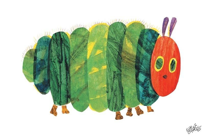 The Very Hungry Caterpillar Fat Canvas Wall Art – Rosenberryrooms With The Very Hungry Caterpillar Wall Art (View 4 of 20)