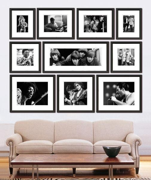 The Well Appointed House – Luxuries For The Home – The Well With Black And White Framed Wall Art (Image 15 of 20)