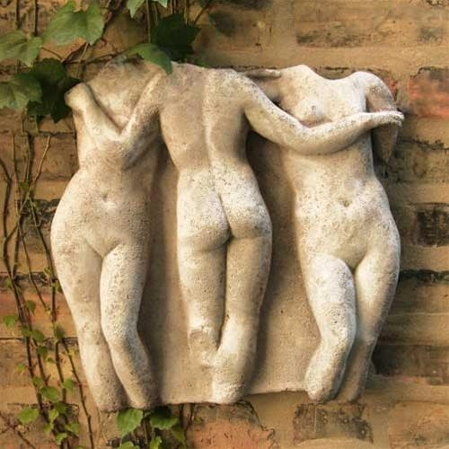 Three Graces Greek Wall Relief | Museum Wall Hanging Replicas In Greek Wall Art (Image 17 of 20)