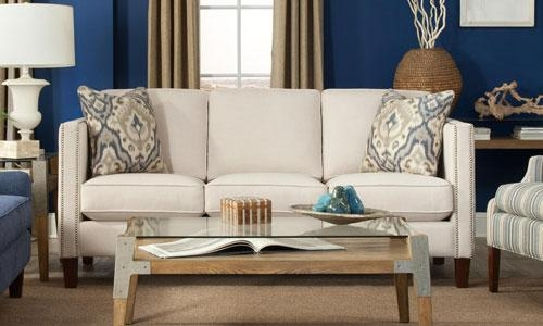 Tips For Small Spaces From Belfort Furniture | Washington Dc Regarding Small Scale Sofas (Image 19 of 20)