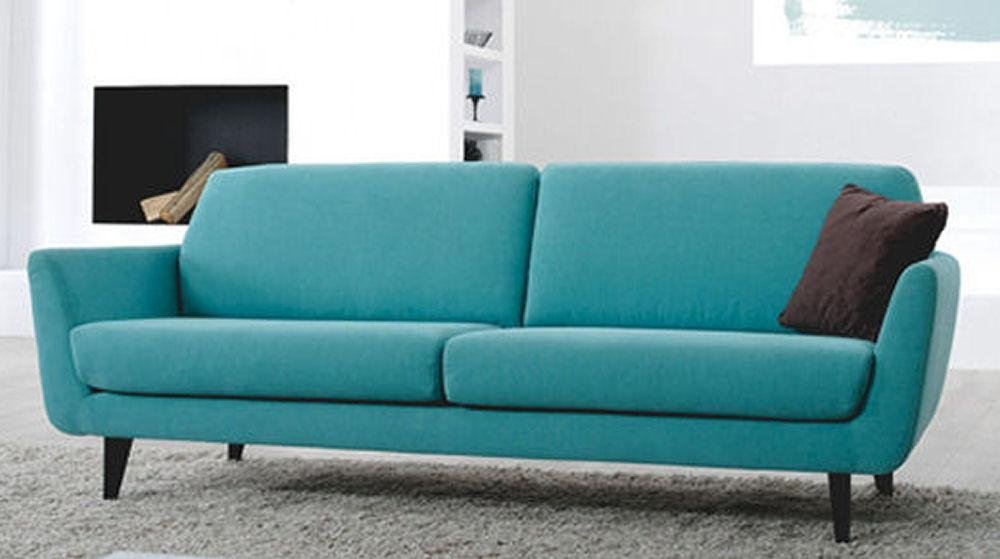 Top 10: Contemporary Sofas For Small Spaces • Colourful Beautiful Inside Narrow Depth Sofas (Image 20 of 20)