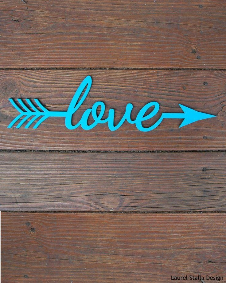 Top 25+ Best Arrow Words Ideas On Pinterest | Family Signs, Arrow Intended For Wooden Words Wall Art (View 16 of 20)