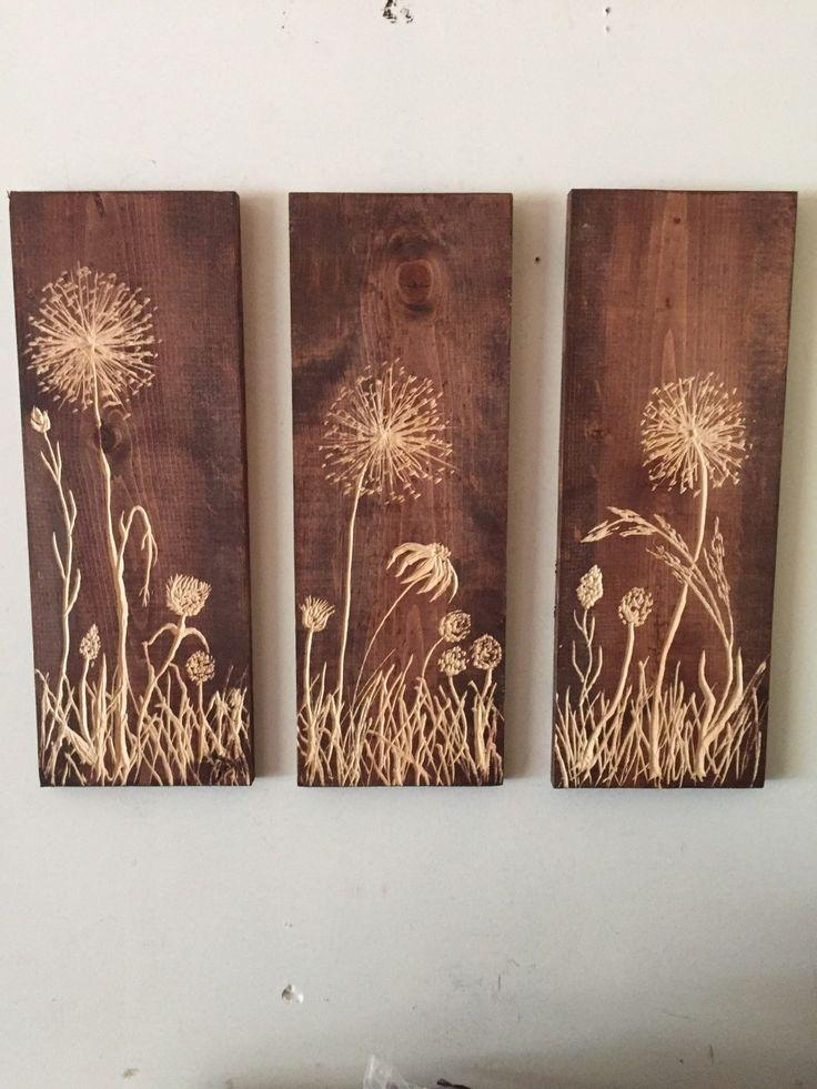 Top 25+ Best Carved Wood Wall Art Ideas On Pinterest | Thai Decor Intended For Wall Art On Wood (View 8 of 20)