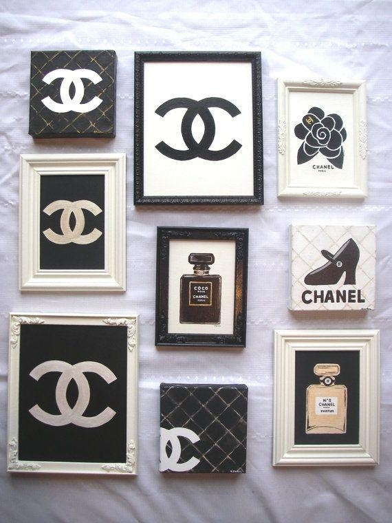 Top 25+ Best Chanel Pictures Ideas On Pinterest | Chanel Wall Art Throughout Chanel Wall Decor (View 15 of 20)