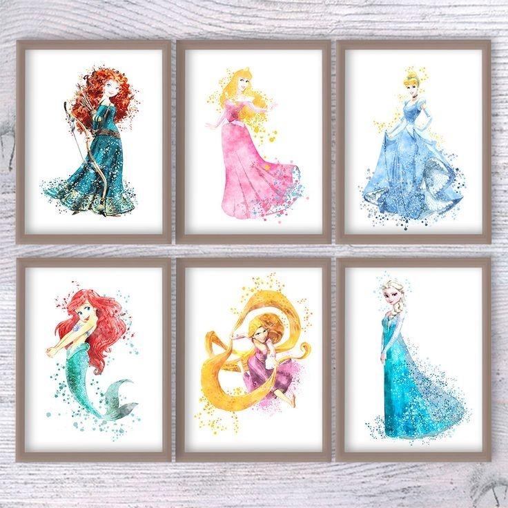 Top 25+ Best Disney Princess Nursery Ideas On Pinterest | Disney Throughout Disney Princess Framed Wall Art (Image 16 of 20)