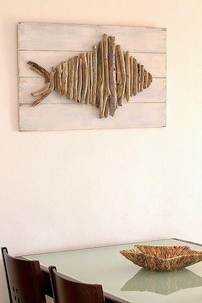 Top 25+ Best Driftwood Wall Art Ideas On Pinterest | Driftwood Inside Driftwood Wall Art (Image 16 of 20)