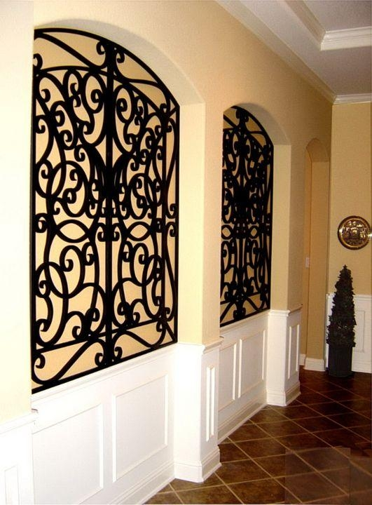 Top 25+ Best Iron Wall Ideas On Pinterest | Iron Wall Art, Wrought For Faux Wrought Iron Wall Decors (View 5 of 20)