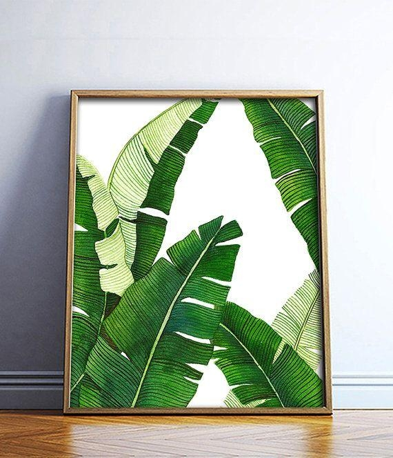 Top 25+ Best Palm Print Ideas On Pinterest | Tropical Background For Palm Leaf Wall Art (View 15 of 20)