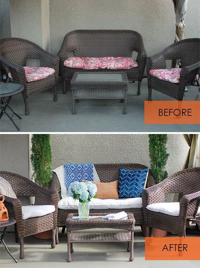 Top 25+ Best Recover Patio Cushions Ideas On Pinterest | Diy Throughout Reupholster Sofas Cushions (Image 19 of 20)
