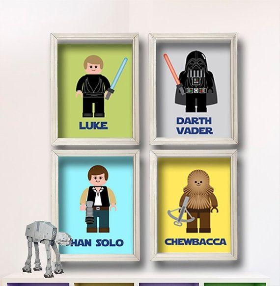 Top 25+ Best Star Wars Wall Art Ideas On Pinterest | Geek Art Within Lego Star Wars Wall Art (Image 20 of 20)