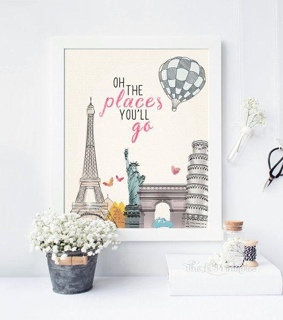 Top 25+ Best Teen Wall Art Ideas On Pinterest | Wall Art Prints Throughout Paris Theme Wall Art (Image 20 of 20)