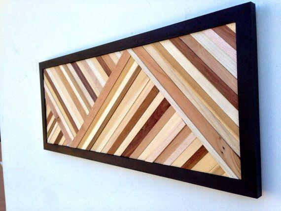 Top 25+ Best Wood Art Ideas On Pinterest | Decorative Shelves Pertaining To Wall Art On Wood (View 11 of 20)