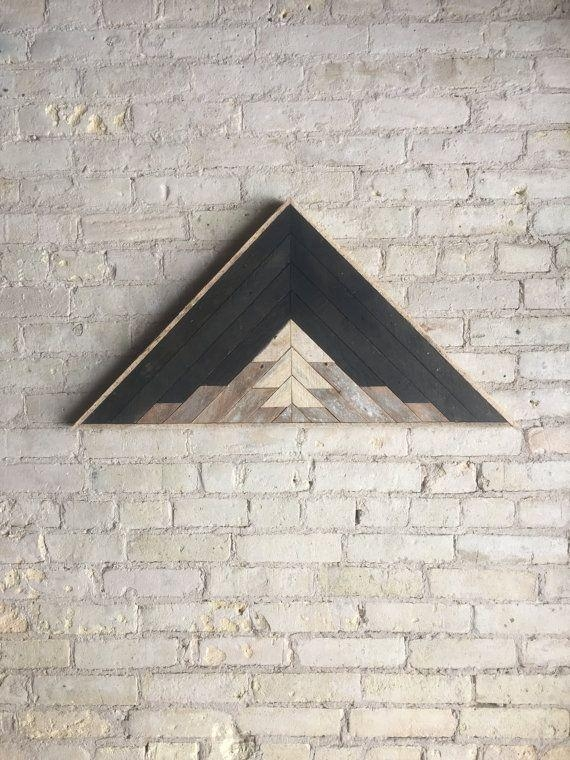 Top 25+ Best Wood Art Ideas On Pinterest | Decorative Shelves With Regard To Dark Wood Wall Art (Image 15 of 20)