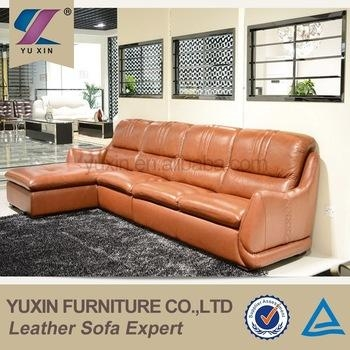 Top Grain Cheers Leather Sofa Furniture,orange Pvc Leather Sofa Intended For Cheers Leather Sofas (View 16 of 20)