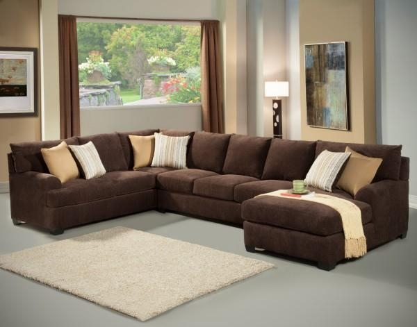 Top Microfiber Sectional Sleeper Sofa Microfiber Sleeper Sofa With For Los Angeles Sleeper Sofas (Image 18 of 20)
