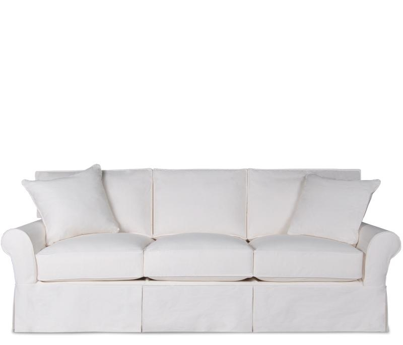 Top White Sleeper Sofa Sleeper Sofa Slipcover Queen Custom Sofa Regarding Los Angeles Sleeper Sofas (Image 19 of 20)