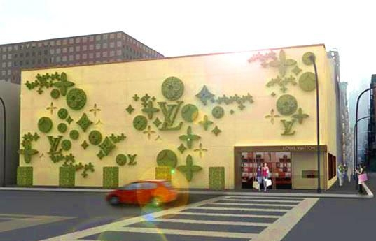 Topiade: Louis Vuitton Stores To Be Emblazoned With Logo Shaped With Regard To Topiary Wall Art (View 18 of 20)