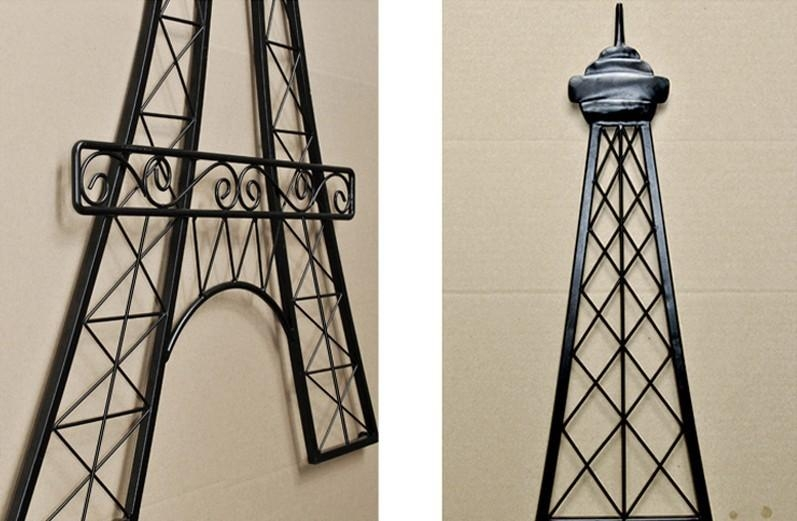 Tower Tee Picture – More Detailed Picture About Unique Modern In Metal Eiffel Tower Wall Art (Image 17 of 20)