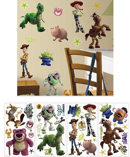 Toy Story 3 Wall Sticker Appliques Intended For Toy Story Wall Stickers (Image 10 of 20)