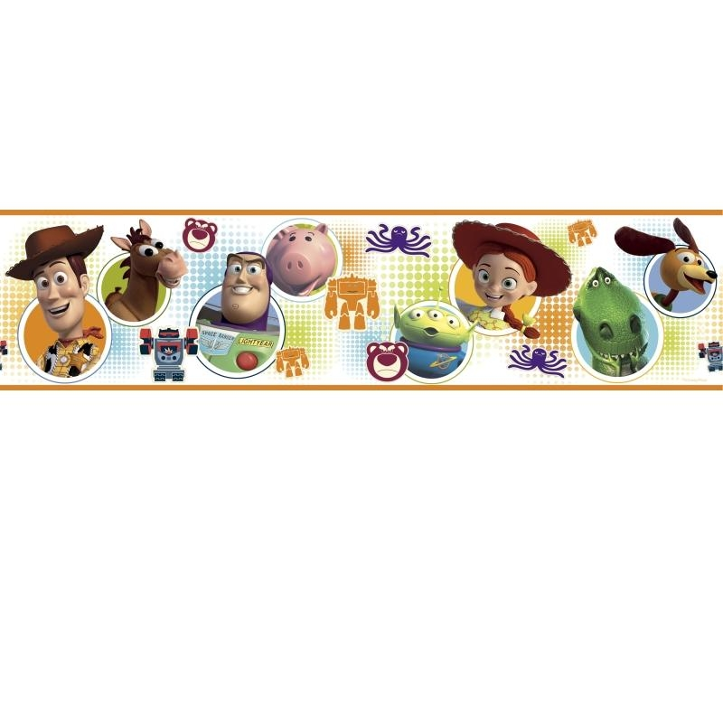 Toy Story 3 Wall Sticker Border | Stickers For Wall With Regard To Toy Story Wall Stickers (Image 12 of 20)