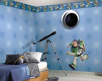 Toy Story Buzz Lightyear Glow In The Dark Giant Wall Decal Fathead Inside Toy Story Wall Stickers (Image 15 of 20)