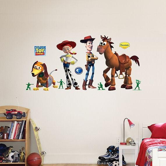 Toy Story Woody And Friends Fathead Wall Sticker Within Toy Story Wall Stickers (Image 20 of 20)