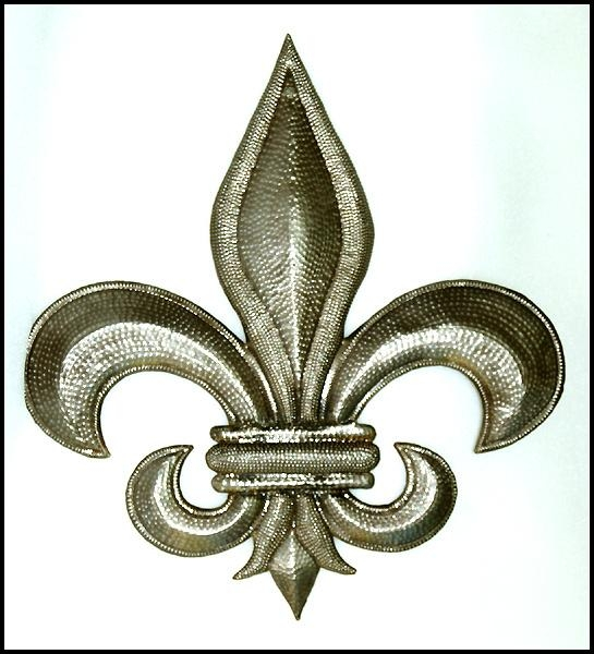 Traditional – Classical Designs In Handcrafted Metal – Haiti Metal Art With Metal Fleur De Lis Wall Art (View 9 of 20)