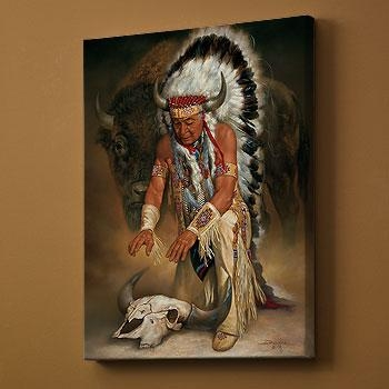 Trail's End–Native American; Metal Wall Art | Wild Wings Within Native American Wall Art (Image 20 of 20)