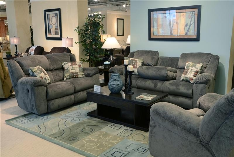 Transformer Ultimate Reclining Sofa In Seal Fabriccatnapper Intended For Catnapper Recliner Sofas (Image 19 of 20)