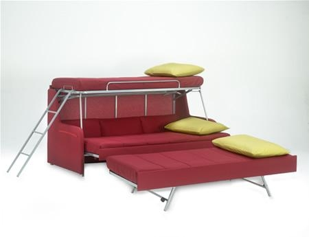 Transforming Sofa Bunk Bed | Expand Furniture For Sofas Converts To Bunk Bed (Image 19 of 20)