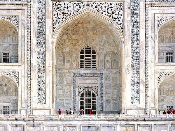Travel To India – Taj Mahal – Moon Cruise Gallery Pertaining To Taj Mahal Wall Art (View 12 of 20)